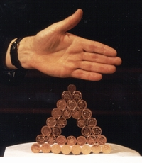 The Royal Institution, the Magic Penny Magnet, Magnetic